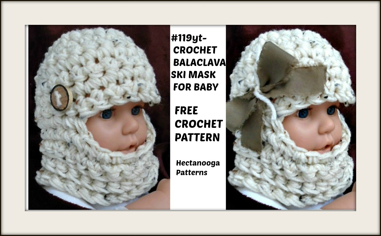 Knitting Pattern Balaclava Hectanooga Patterns Free Crochet Pattern Ba Balaclava Ski Mask Hat