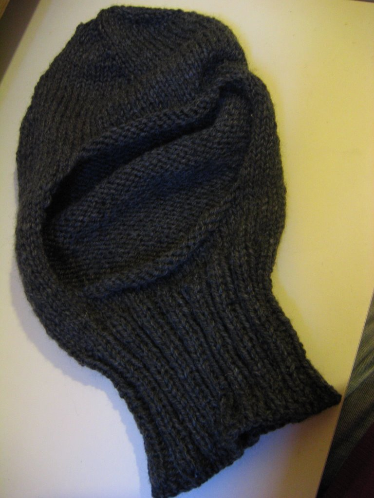Knitting Pattern Balaclava Slippedstitch Balaclava