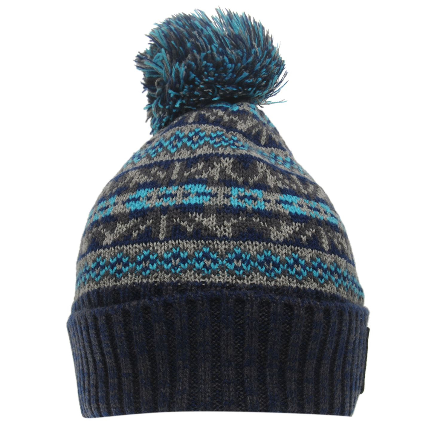 Knitting Pattern Bobble Hat Details About Soulcal Mens Dogoda Bobble Hat Pattern Winter