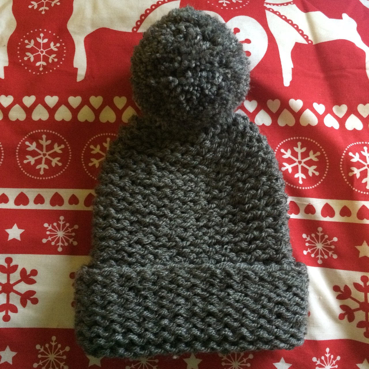 Knitting Pattern Bobble Hat Listed On Depop Lucyhainsworth