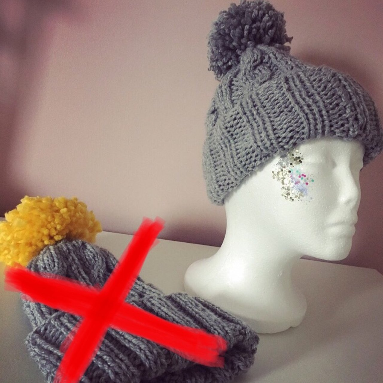 Knitting Pattern Bobble Hat Listed On Depop Samanthacd6