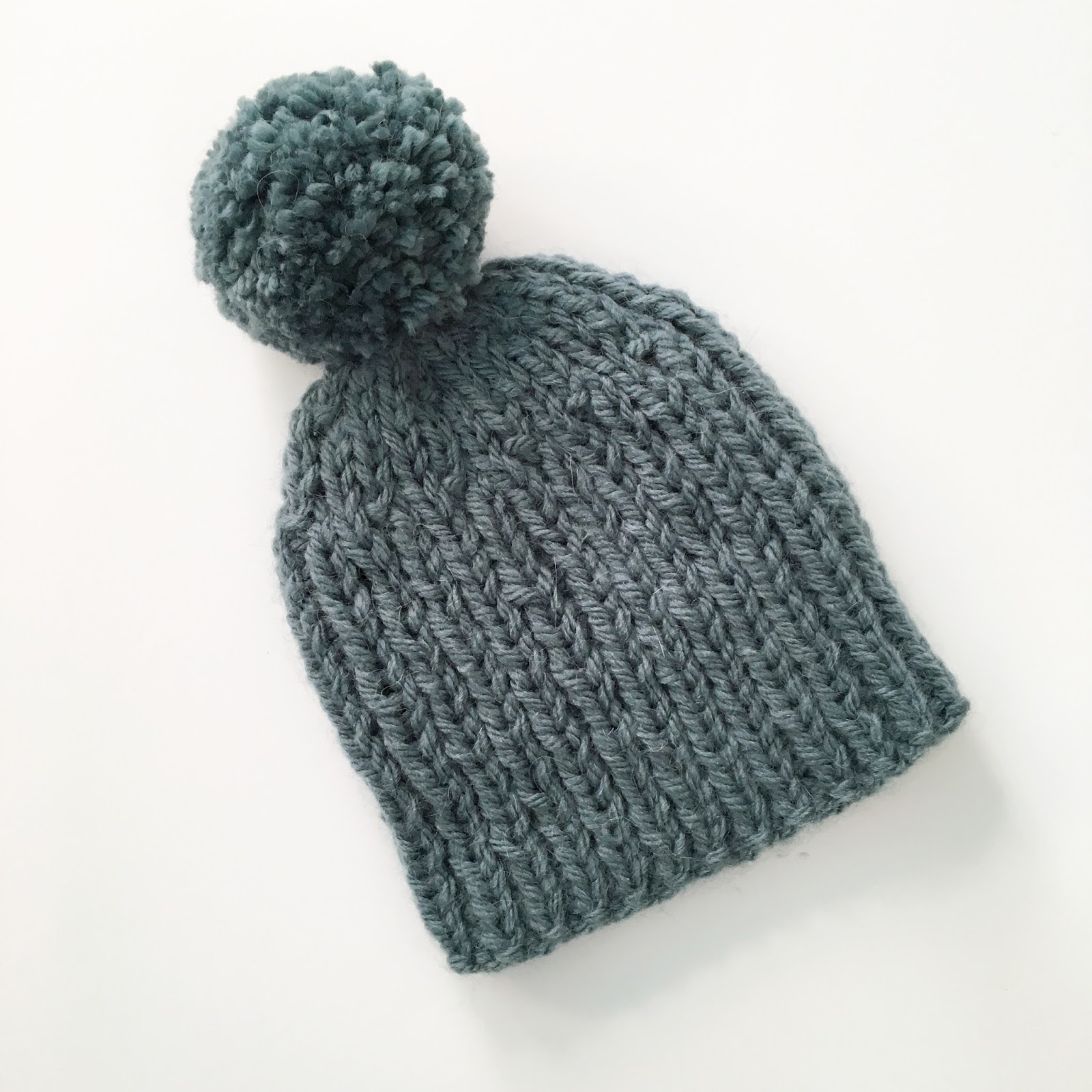 Knitting Pattern Bobble Hat Mack And Mabel Quick And Easy Bobble Hat A Free Pattern