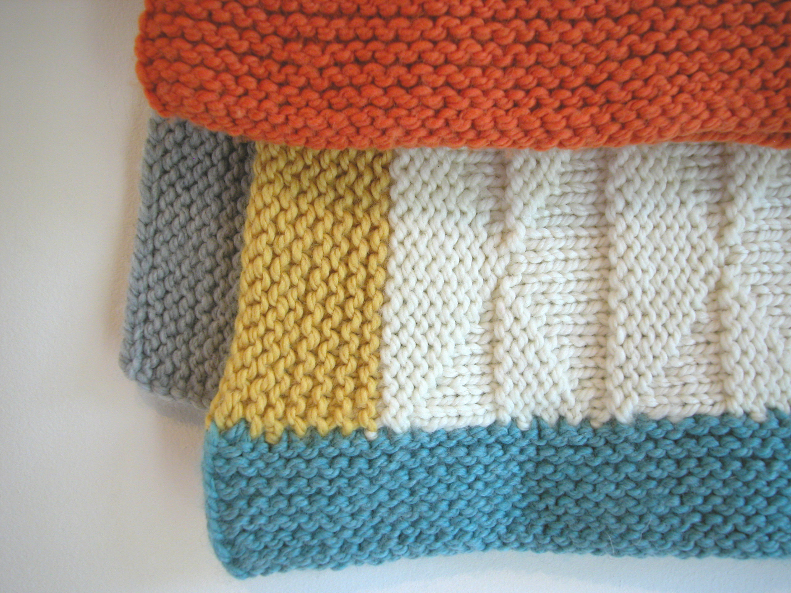 Knitting Pattern For Baby Blankets Ba Blanket Pattern The Knit Cafe
