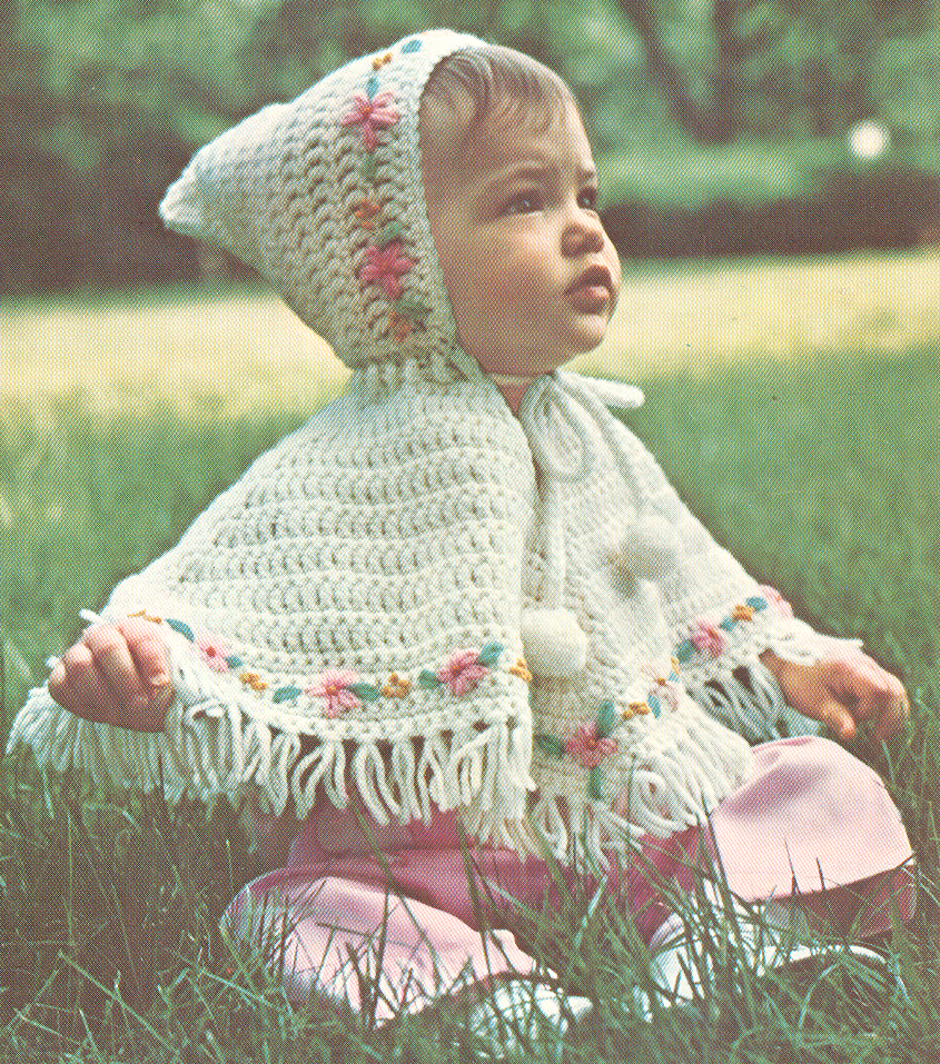 Knitting Pattern For Childs Poncho Crochet Poncho Free Pattern Hooded Crochet Club