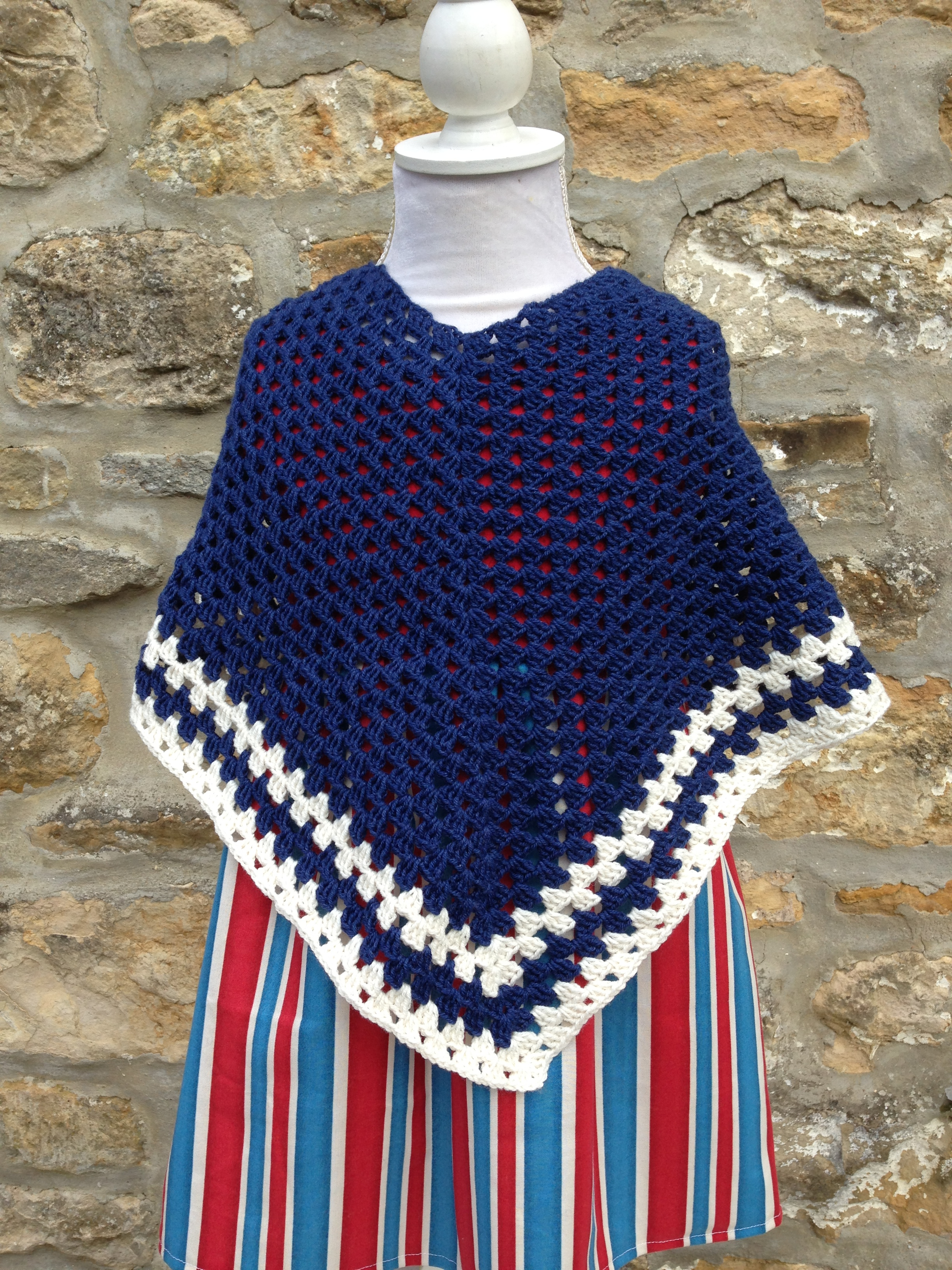 Knitting Pattern For Childs Poncho Free Childs Crochet Poncho Pattern