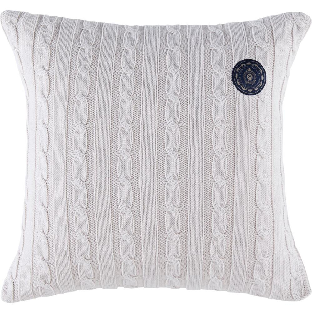 Knitting Pattern For Cushion Cover With Cables Grand Design Cable Knitted Cushion Cover Off White 50 X 50 Cm