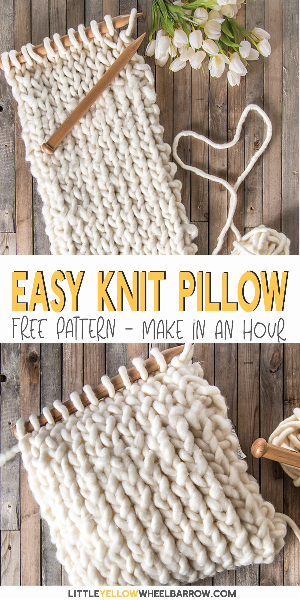 Knitting Pattern For Cushion Cover With Cables How To Make A Chunky Knit Pillow Cover In Under An Hour
