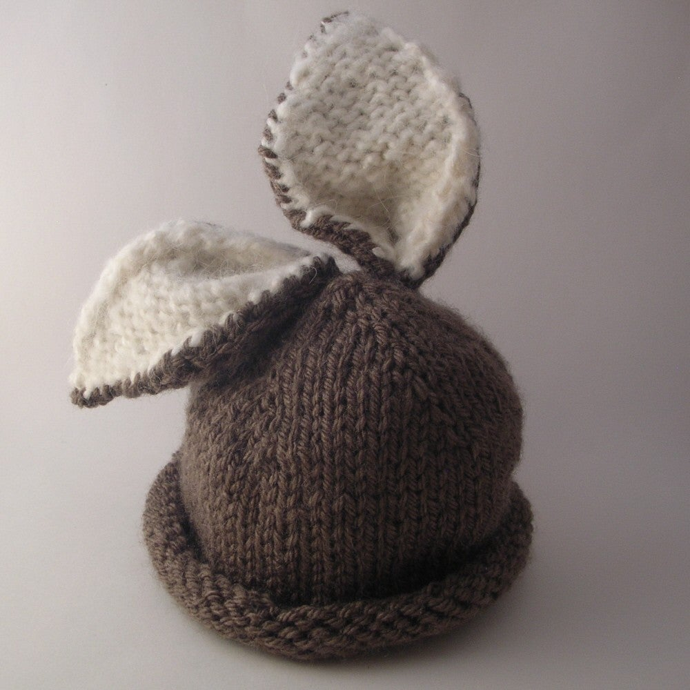 Knitting Patterns Baby Hat Briar Bunny Ba Hat Knitting Pattern