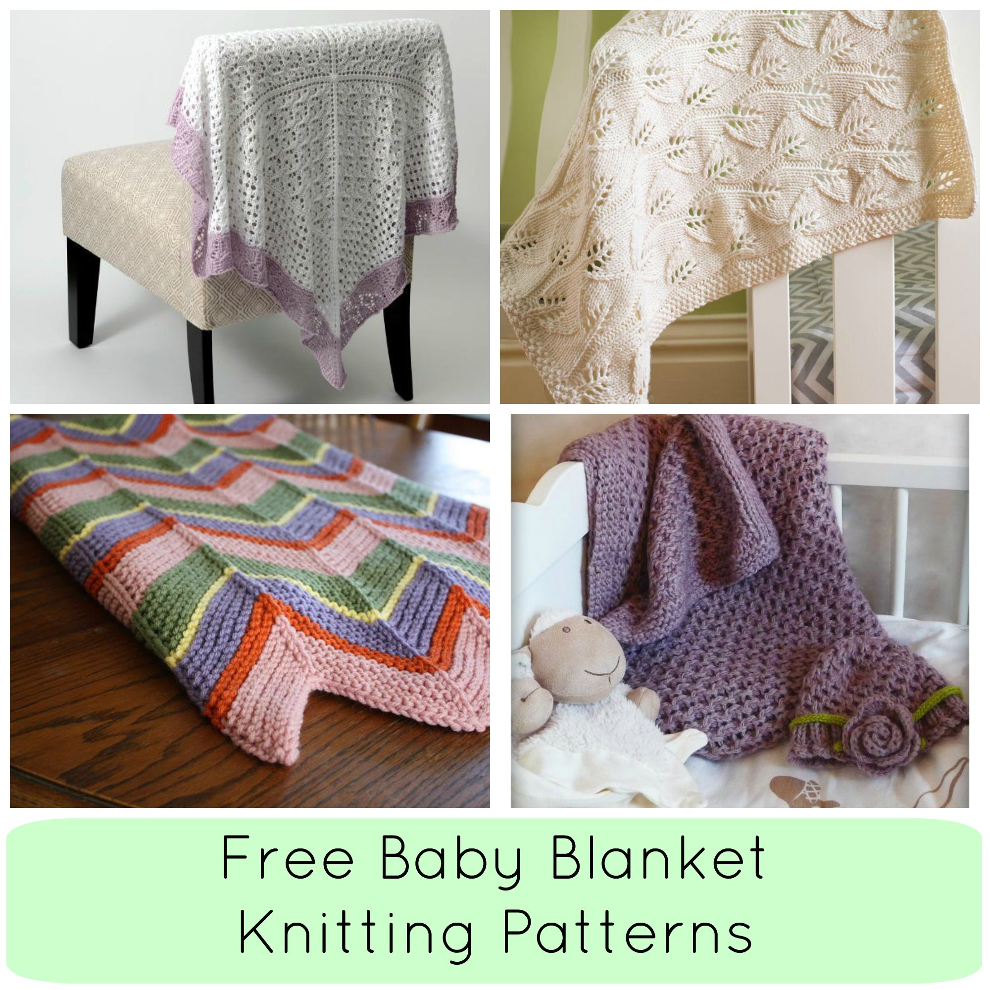 Knitting Patterns For Baby Blankets Easy 8 Free Ba Blanket Knitting Patterns Craftsy