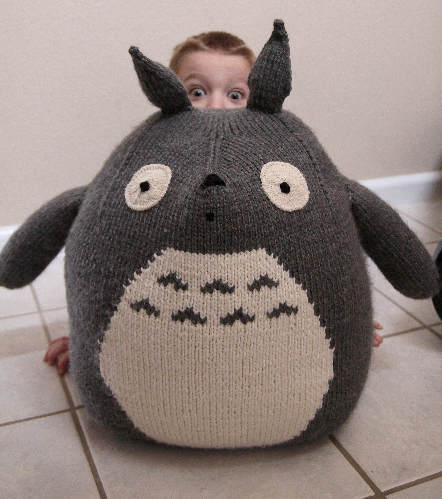 Knitting Patterns For Baby Toys 9 Totoro Knitting Pattern The Funky Stitch