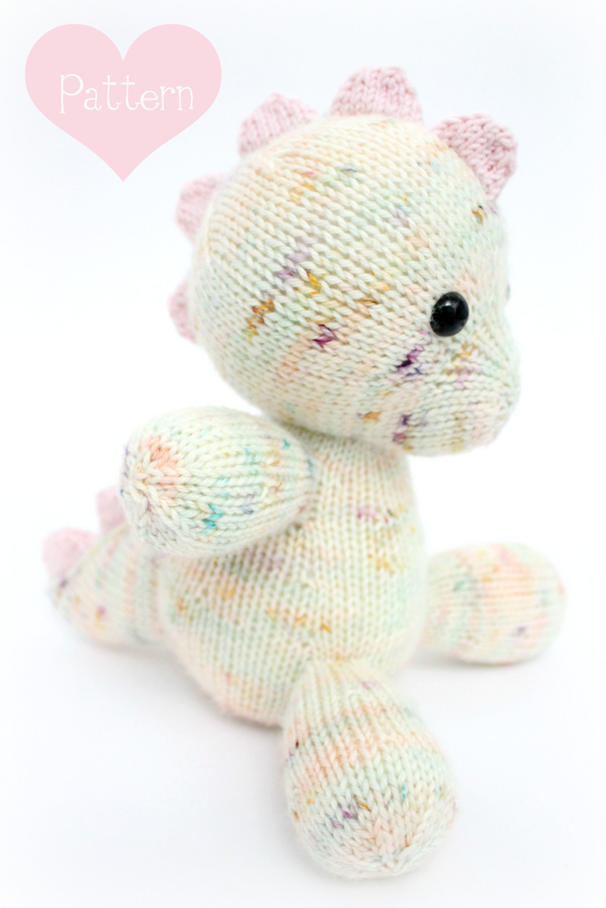 Knitting Patterns For Baby Toys Free Knitting Pattern Daisy The Ba Dino Pdf Knitting Pattern
