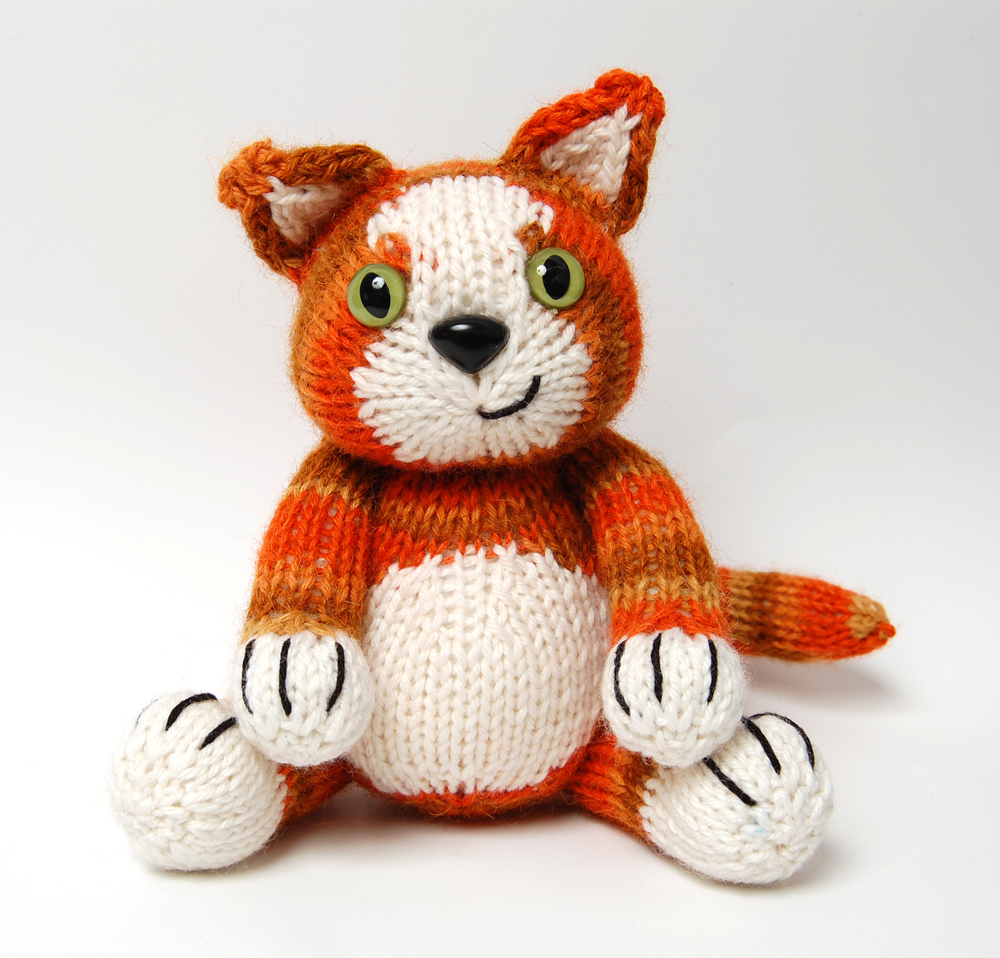 Knitting Patterns For Baby Toys Free Knitting Patterns For Toy Cats