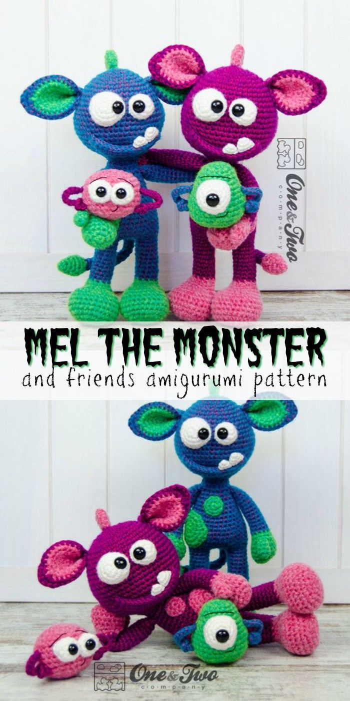 Knitting Patterns For Baby Toys Knitting Patterns Toys Check Out This Adorable Monster Amigurumi