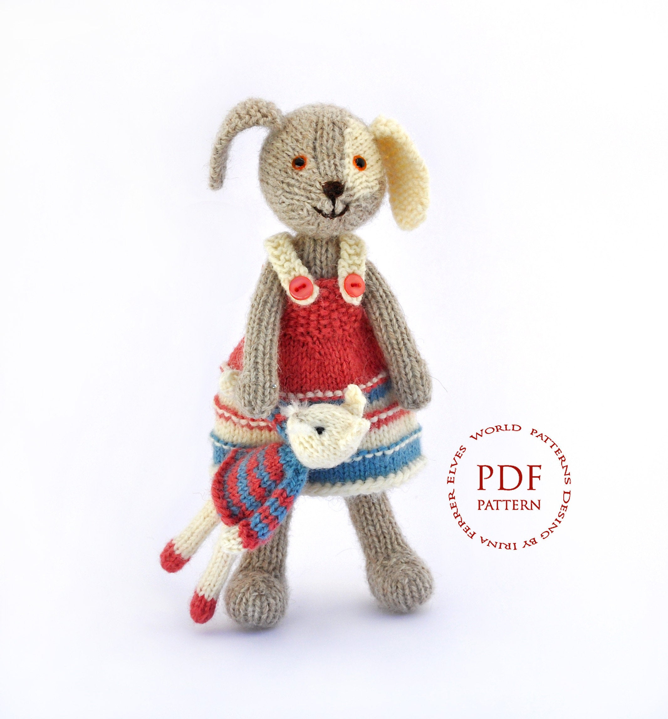 Knitting Patterns For Baby Toys Pattern Knitting Dog Pattern Toy Patterns Pdf Toy Pattern Ba Toy Pattern Knitting Toy Pattern Child Toy Patterns Pdf Dog Pattern Knit Toy