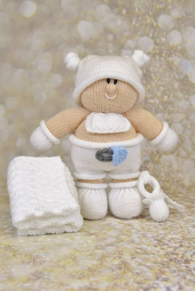 Knitting Patterns For Baby Toys Toy Knitting Pattern Burly Ba Knitting Pattern Download From Knitting Post Pdf Download