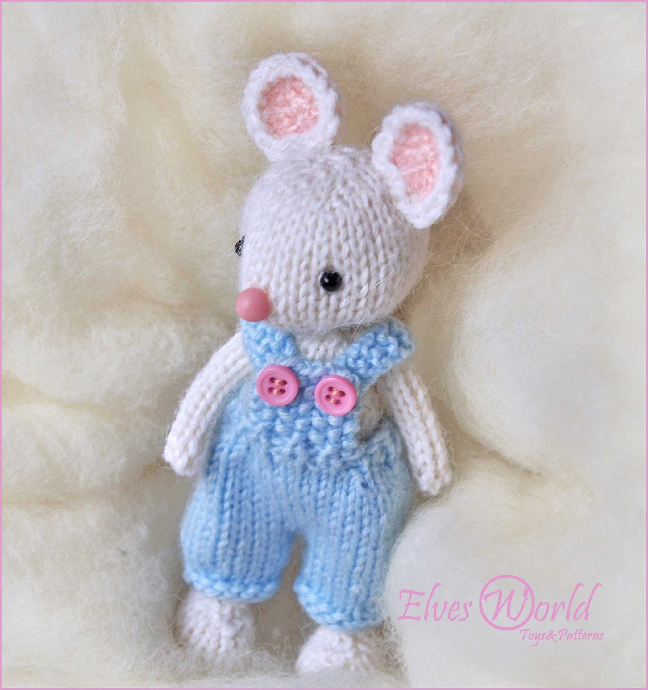 Knitting Patterns For Baby Toys Toy Mouse Knitting Pattern Pdf Knitted Animal Pattern Stuffed Toy Making Diy Toy Ba Mouse Amigurumi Pattern Pattern Ba Toy Mouse Pattern