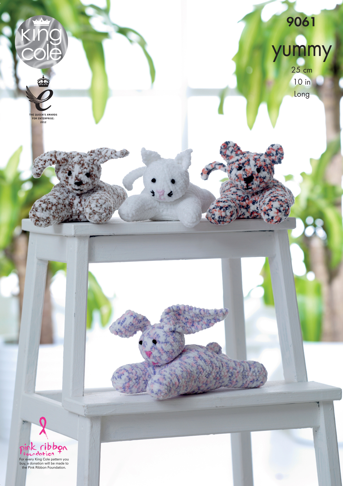 Knitting Patterns For Cat Toys Details About King Cole Yummy Knitting Pattern Dog Cat Tiger Cub Or Rabbit Laying Toys 9061
