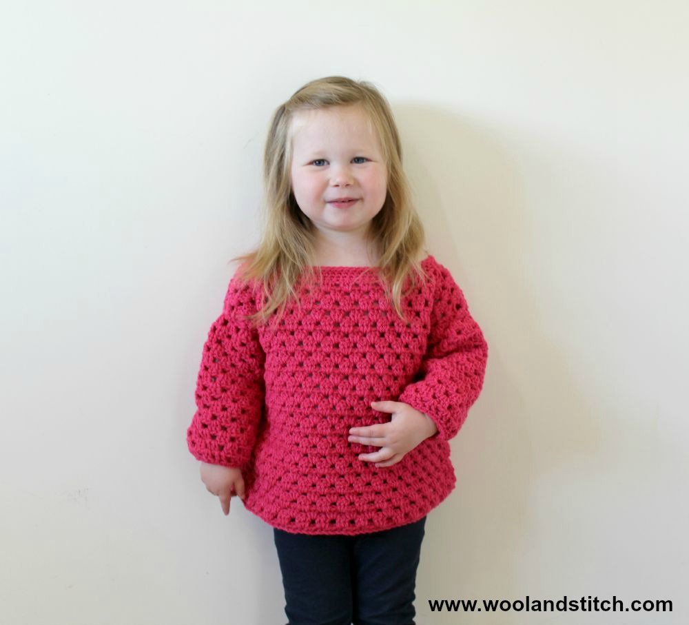Knitting Patterns For Childrens Sweaters Free Crochet Patterns Galore Mini Kids Granny Stripe Sweater