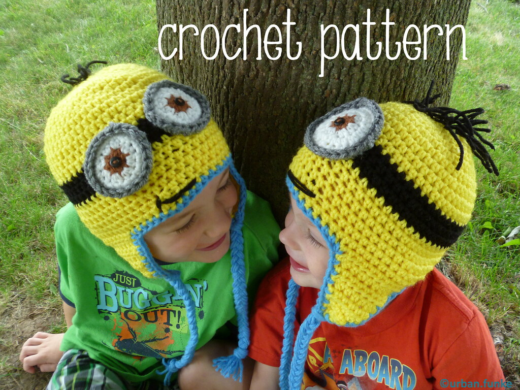 Knitting Patterns For Minion Hats Despicable Me Minion Hats Pattern Available At Urbanfunke Flickr