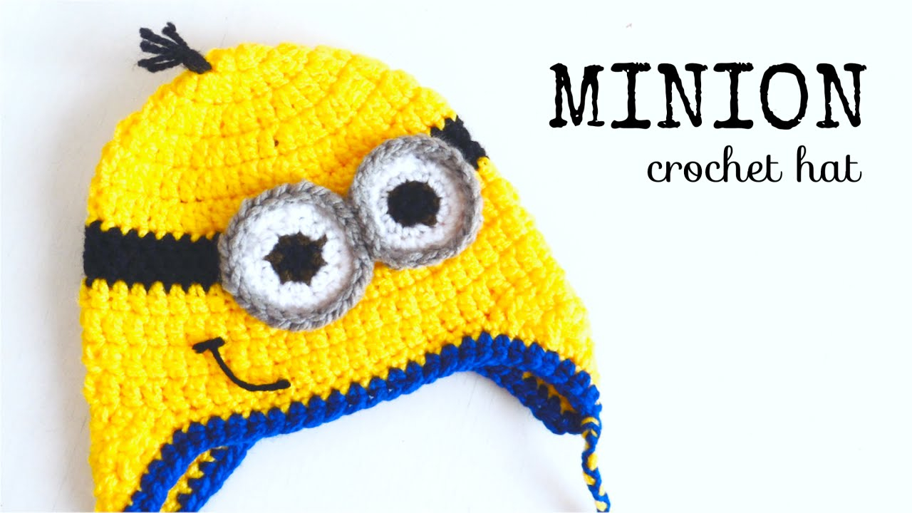 Knitting Patterns For Minion Hats How To Crochet Minion Hat All Sizes Crochet Lovers