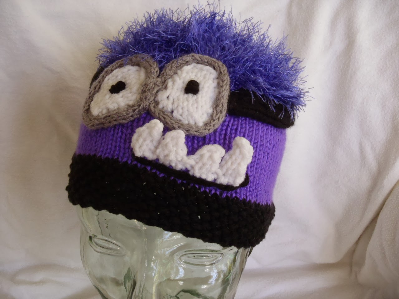Knitting Patterns For Minion Hats Stanas Critters Etc Knitting Patterns For Minion Hat And Evil