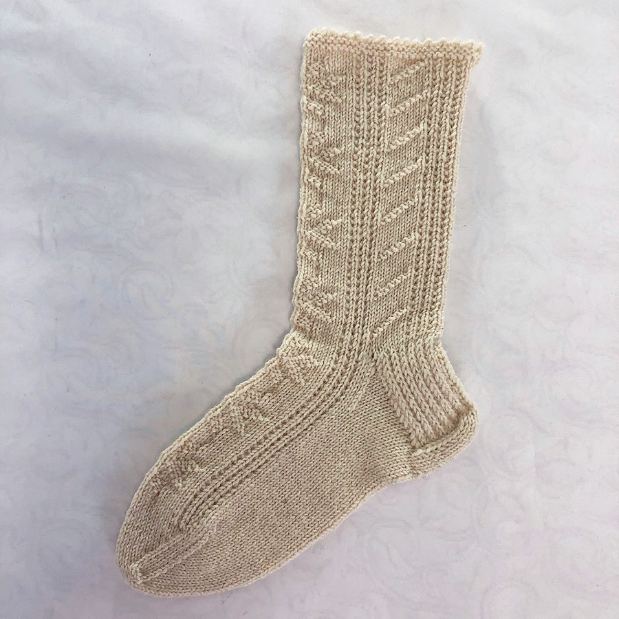 Knitting Patterns For Socks Gansey Socks Pattern
