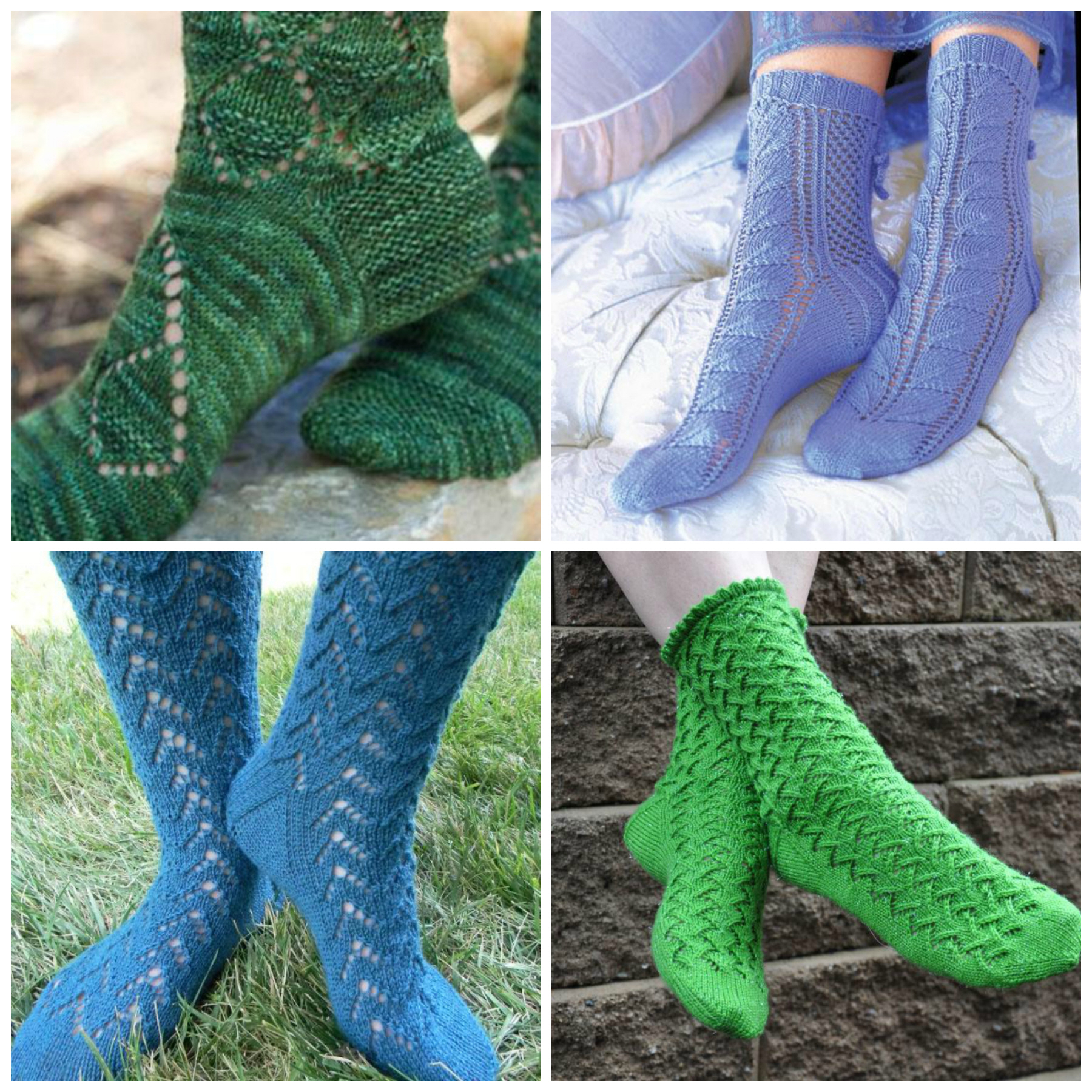 Knitting Patterns For Socks Lace Sock Patterns For Summer Knitting