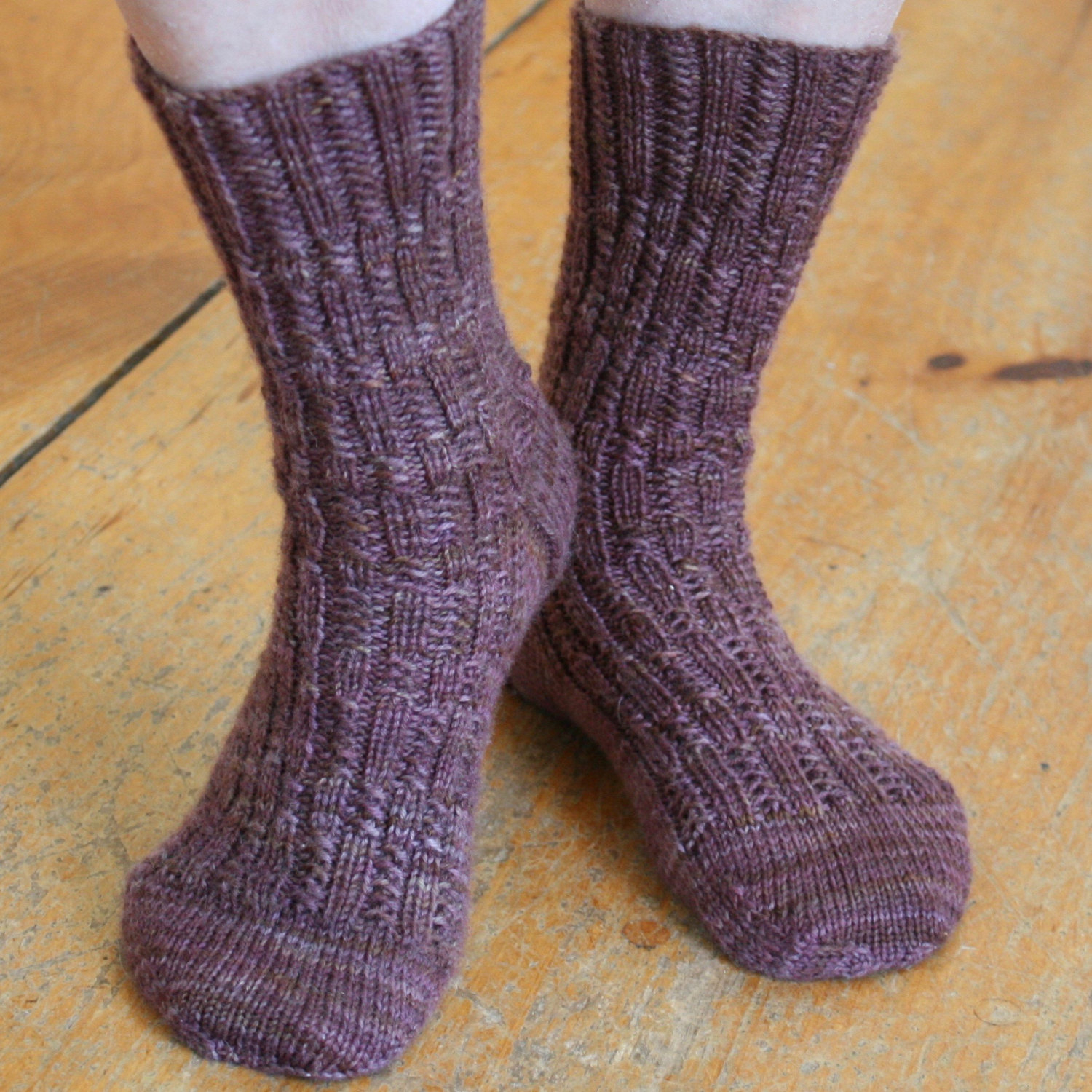 Knitting Patterns For Socks Sock Knitting Pattern Pdf Knit Sock Pattern Knitted Socks Pattern Ribbing Rib Stitch Sock Knitting Pattern Two Block Socks