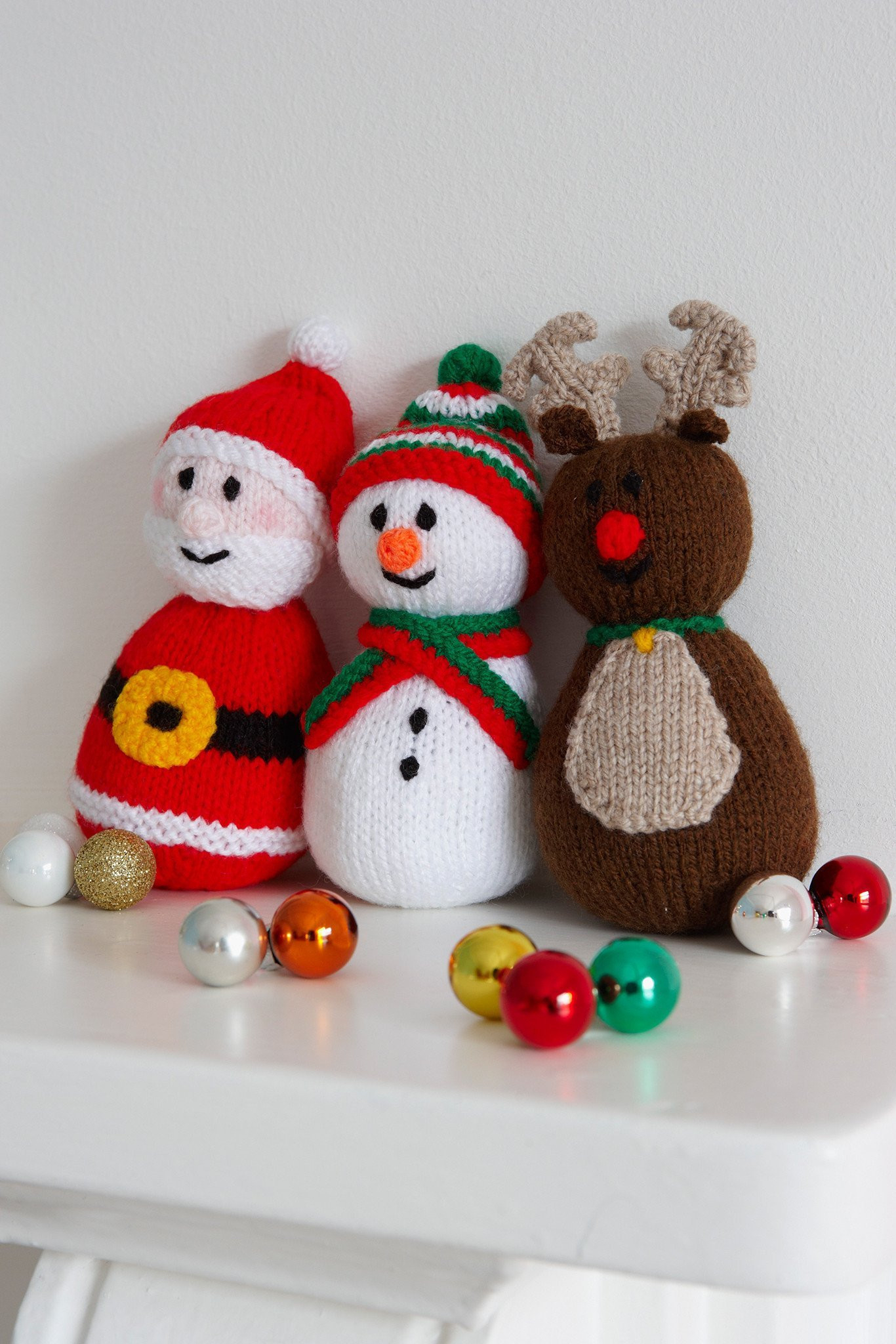 Knitting Patterns For Toys Uk Christmas Toys Knitting Patterns