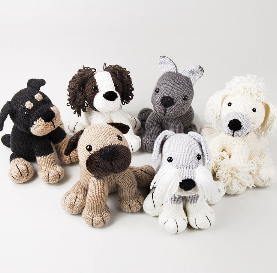 Knitting Patterns For Toys Uk Dog Knitting Patterns In The Loop Knitting