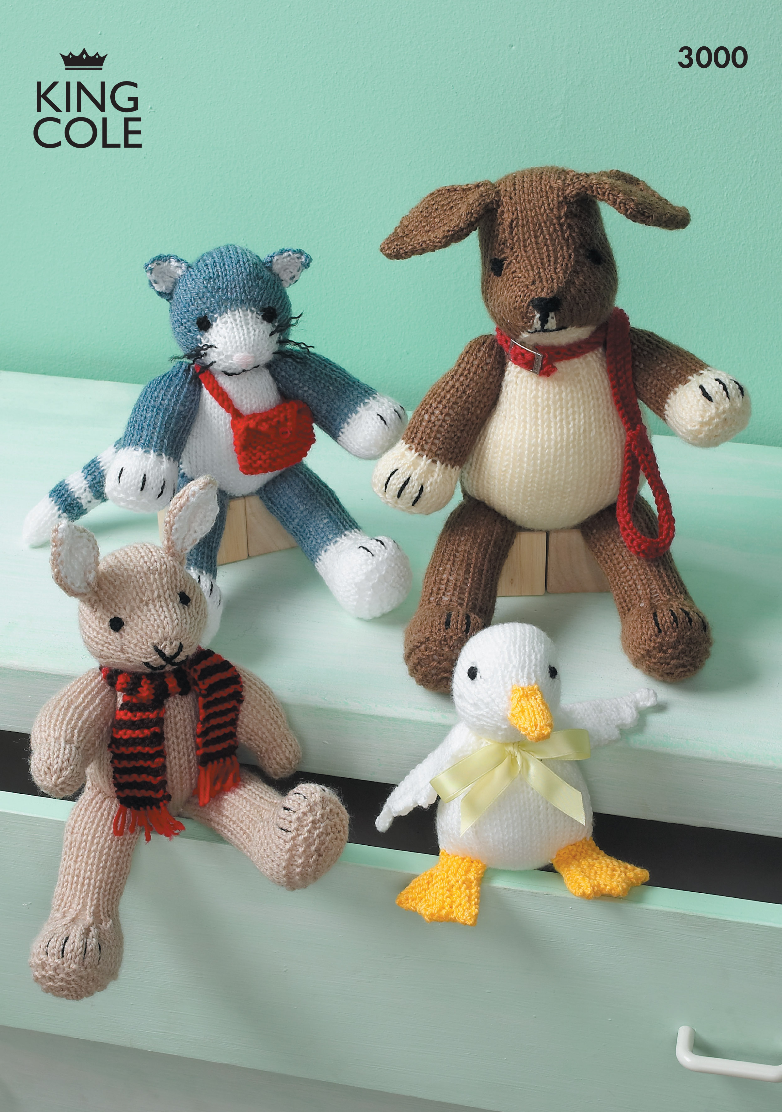Knitting Patterns For Toys Uk Easy To Follow Toys Knitted In Various King Cole Dk Knitting