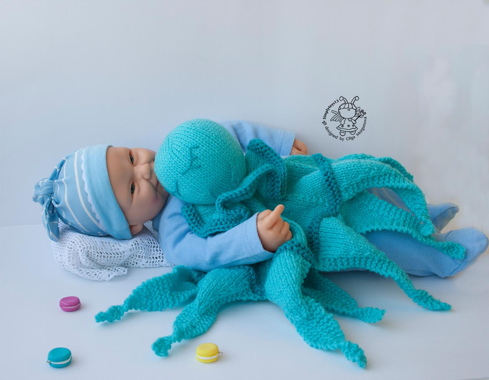 Knitting Patterns For Toys Uk The Knit Octopus For Babies The Latest And Greatest Way To Give Back
