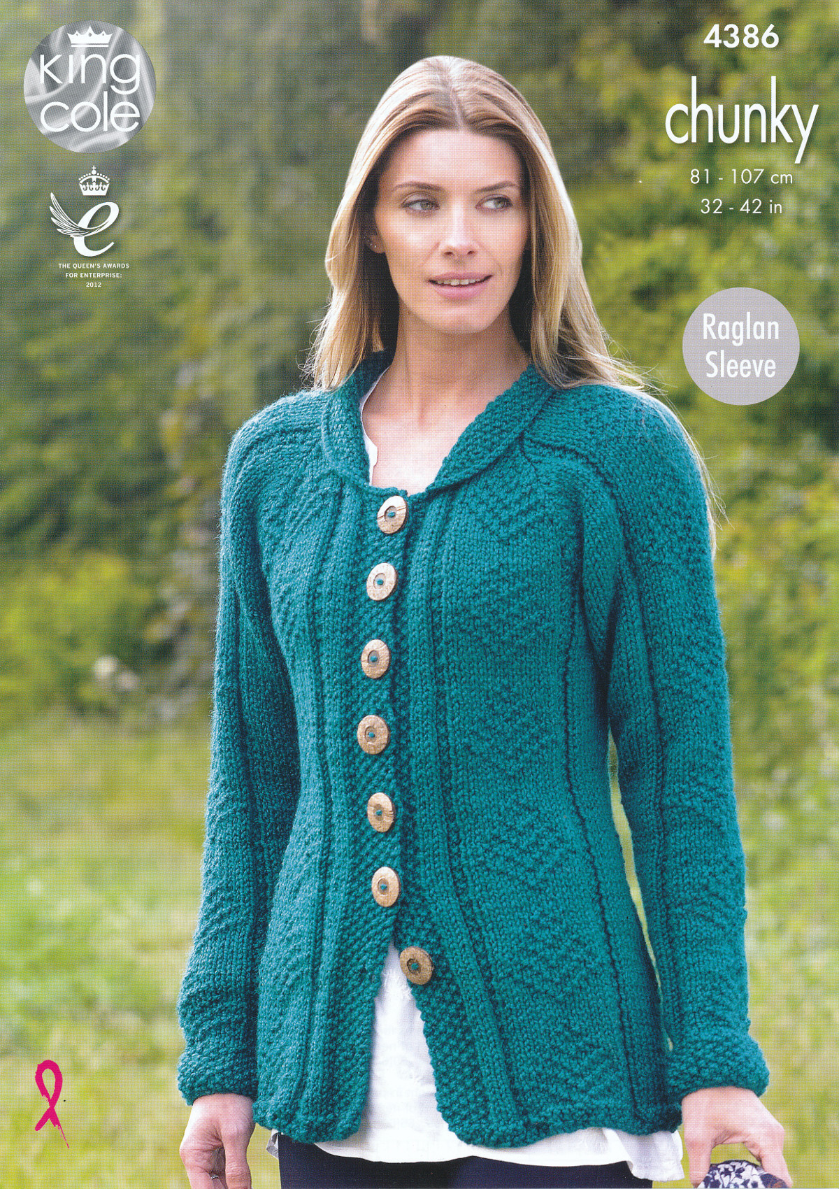 Knitting Patterns For Women Details About King Cole Ladies Chunky Knitting Pattern Womens Raglan Sleeve Coat Cardigan 4386