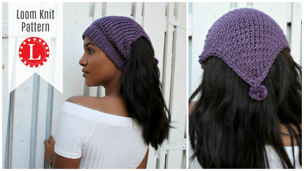 Knitting Patterns Headbands Ear Warmer Loom Knitting Patterns Headband Ear Warmer Messy Bun Hat Includes Video Tutorial For Large Or Extra Large Round Knitting Looms Loomahat