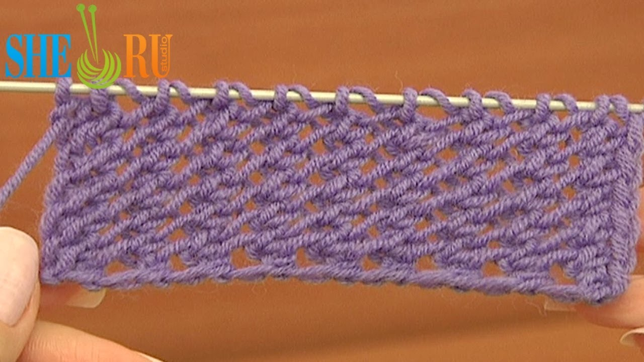 Knitting Patterns Tutorial Easy To Knit Mesh Stitch Pattern Tutorial 18 Gestricktes Mesh Fr Anfnger