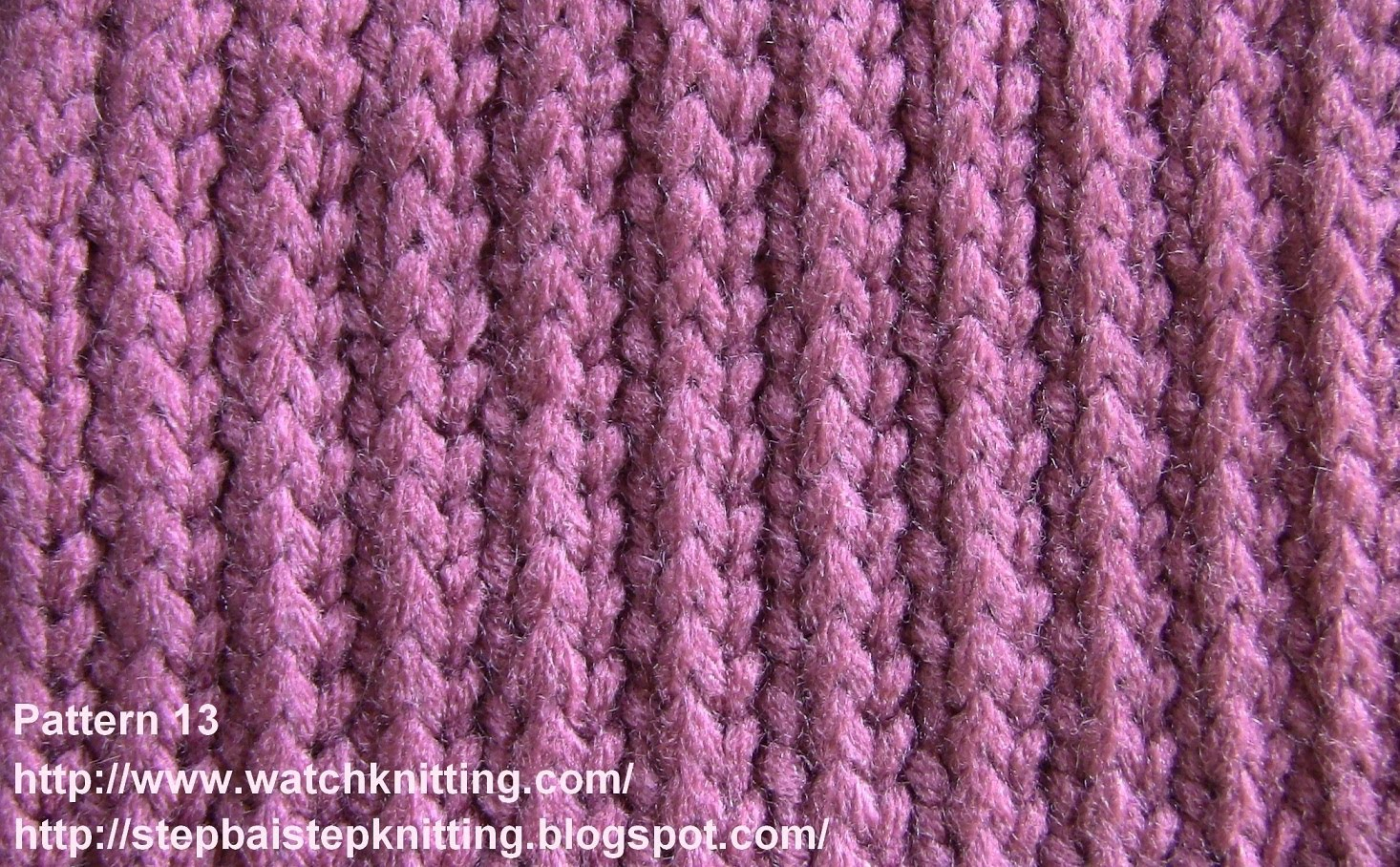 Knitting Patterns Tutorial Simple Knitting Patterns Striped Stitch Simple Patterns