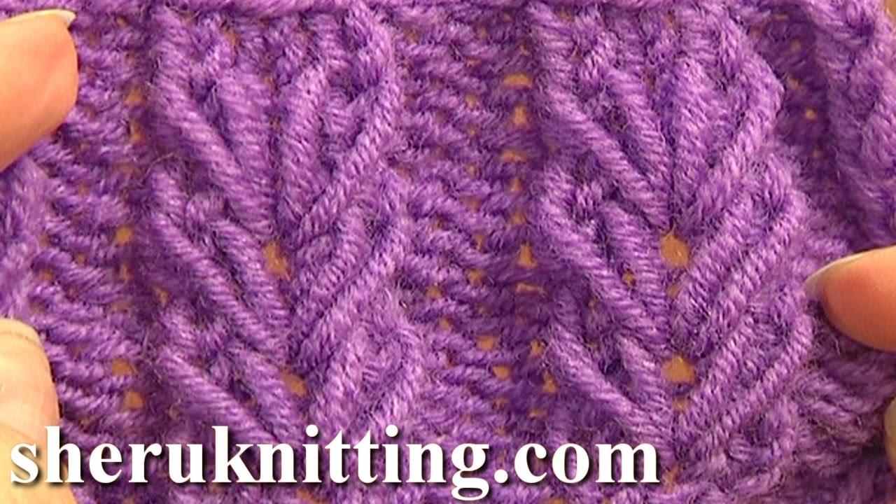 Knitting Patterns Tutorial Wheat Ear Loop Stitch Pattern Tutorial 6 Stricken Fr Anfnger