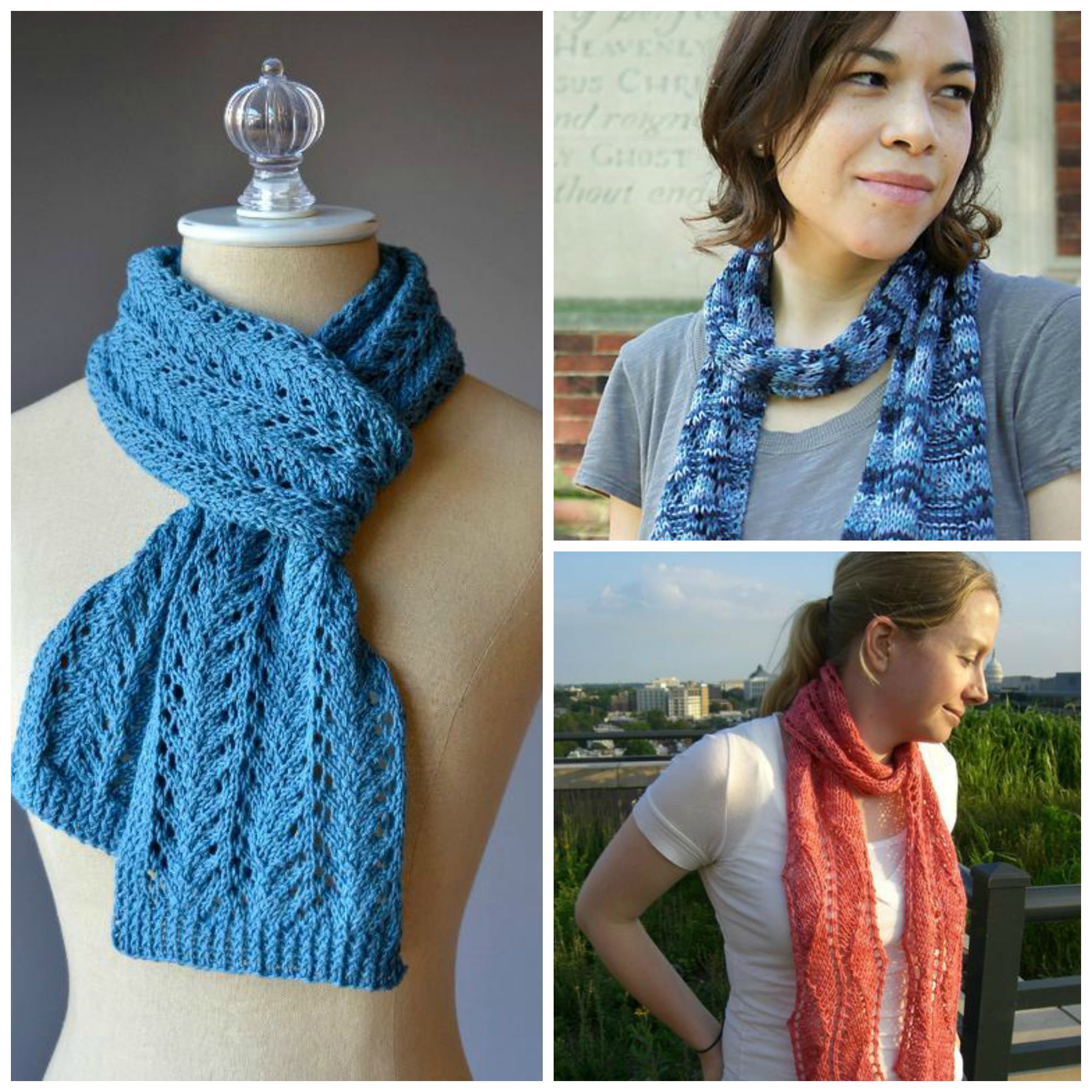 Knitting Scarf Pattern For Beginners Free 9 Fantastic Free Knitted Lace Scarf Patterns