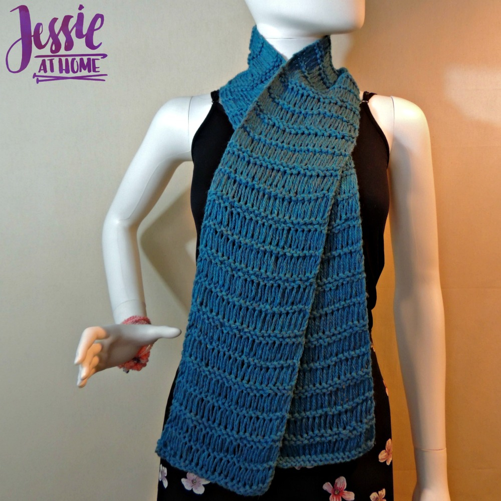 Knitting Scarf Pattern For Beginners Free Basic Drop Stitch Scarf Jessie At Home