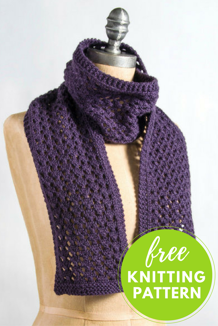 Knitting Scarf Pattern For Beginners Free Knitting Patterns For Mufflers