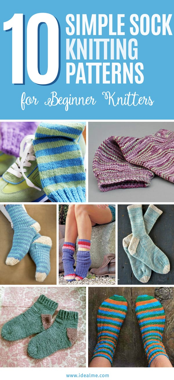 Knitting Sock Patterns For Beginners 10 Simple Sock Knitting Patterns For Beginner Knitters Ideal Me
