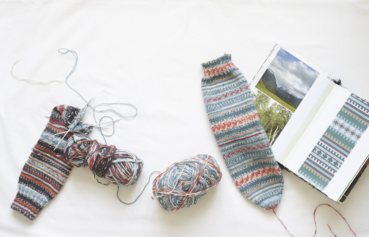 Knitting Sock Patterns For Beginners How To Knit The Easiest Sock In The World Arne Carlos