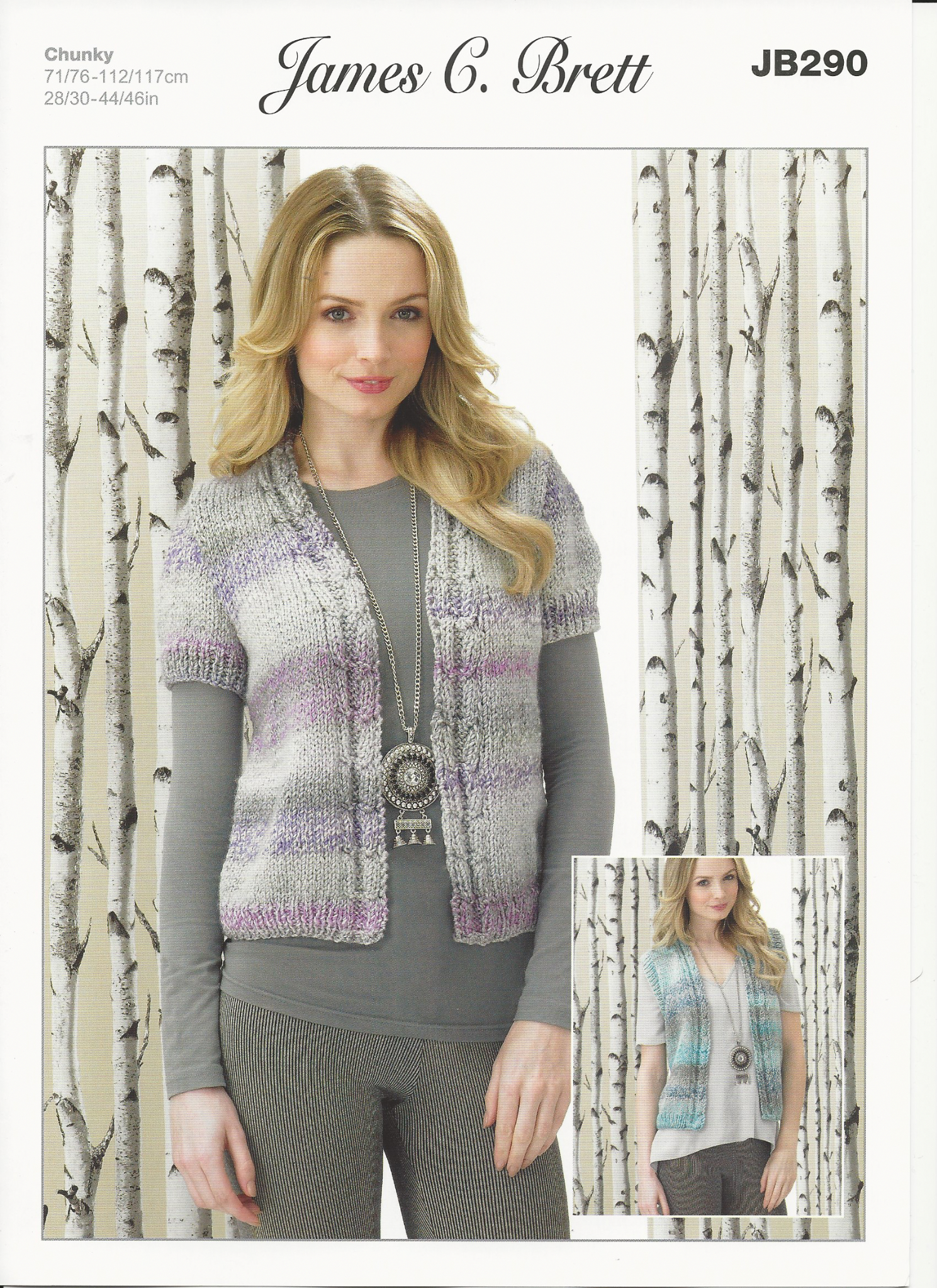 Ladies Waistcoat Knitting Pattern James C Brett Ladies Waistcoats Knitting Pattern In Marble Chunky Jb290