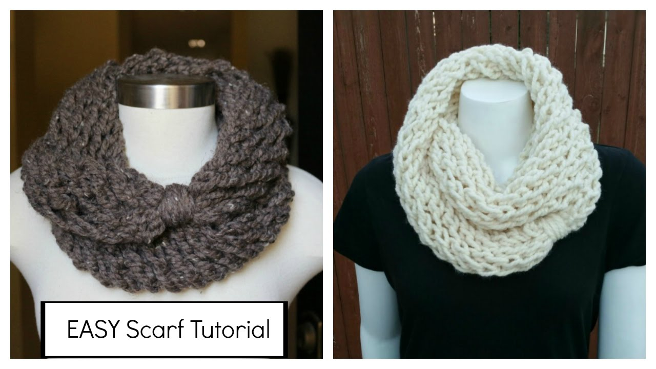 Loop Scarf Knitting Pattern How To Knit An Infinity Scarf In A Couple Of Hours Plus Meet My Kids