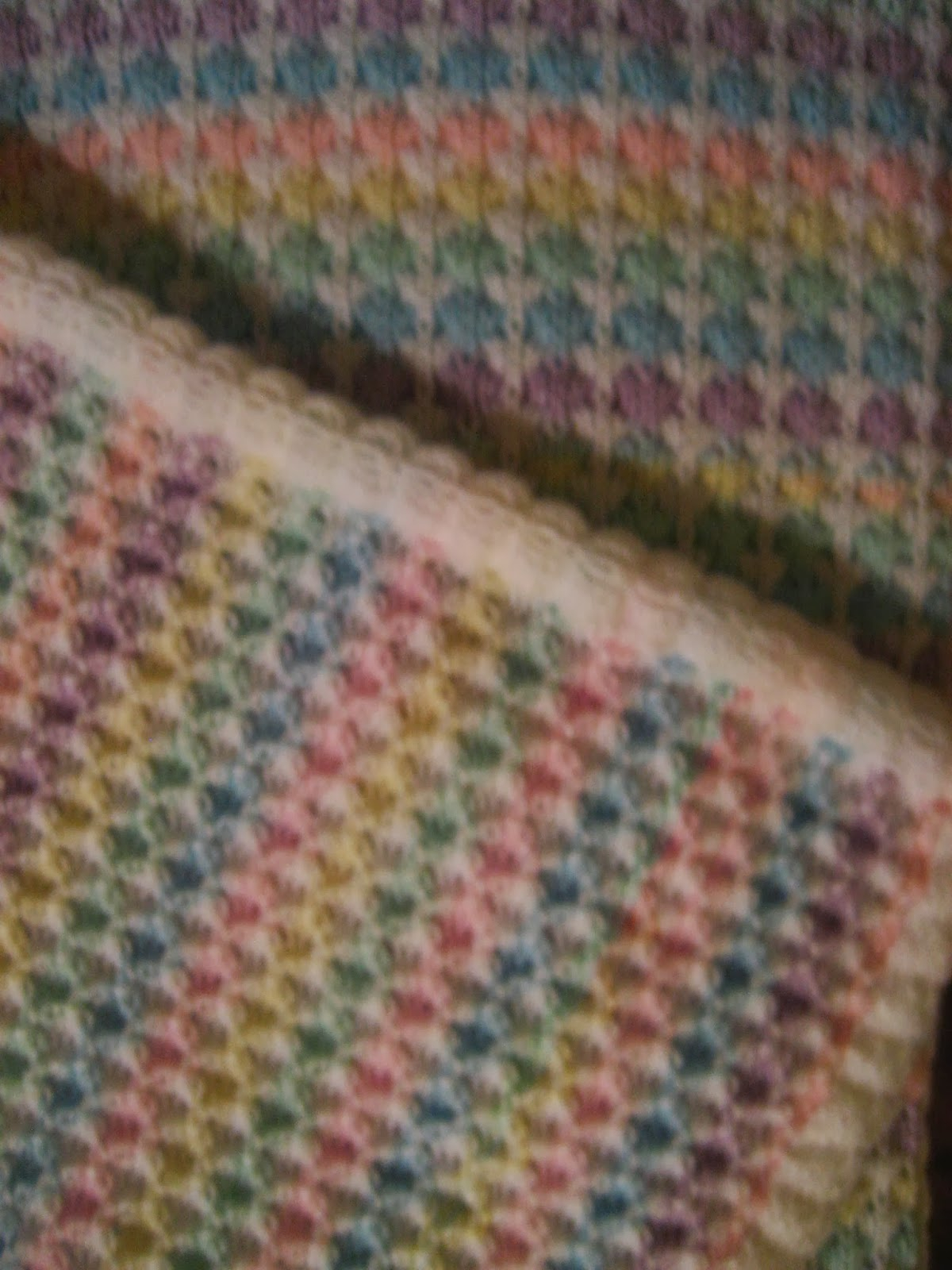 Machine Knit Baby Blanket Pattern Diana Natters On About Machine Knitting Another Ba Blanket