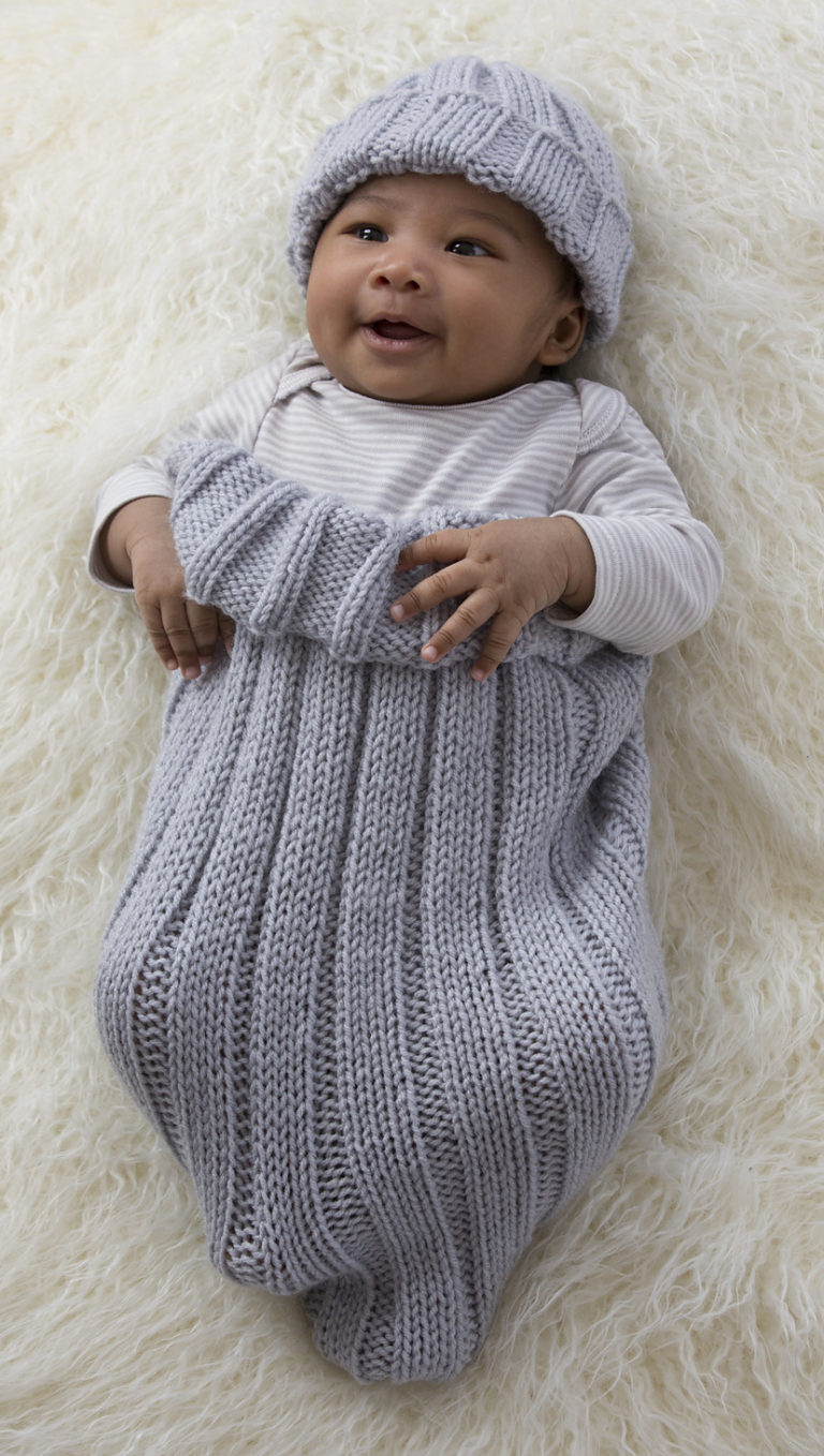 Mermaid Cocoon Knitting Pattern Ba Cocoon Snuggly Sleep Sack Wrap Knitting Patterns In The