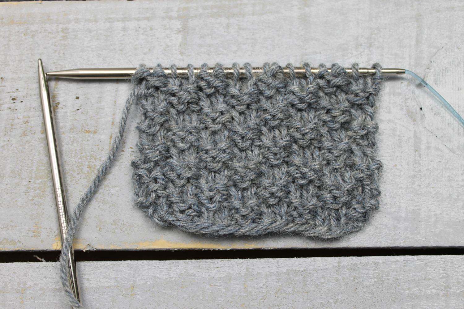Moss Stitch Scarf Knitting Pattern How To Knit The Double Seed Stitch