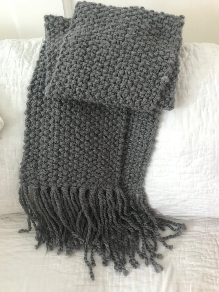 Moss Stitch Scarf Knitting Pattern Lizzie Post On Twitter Awesomeetiquette Knitters I Just Finished