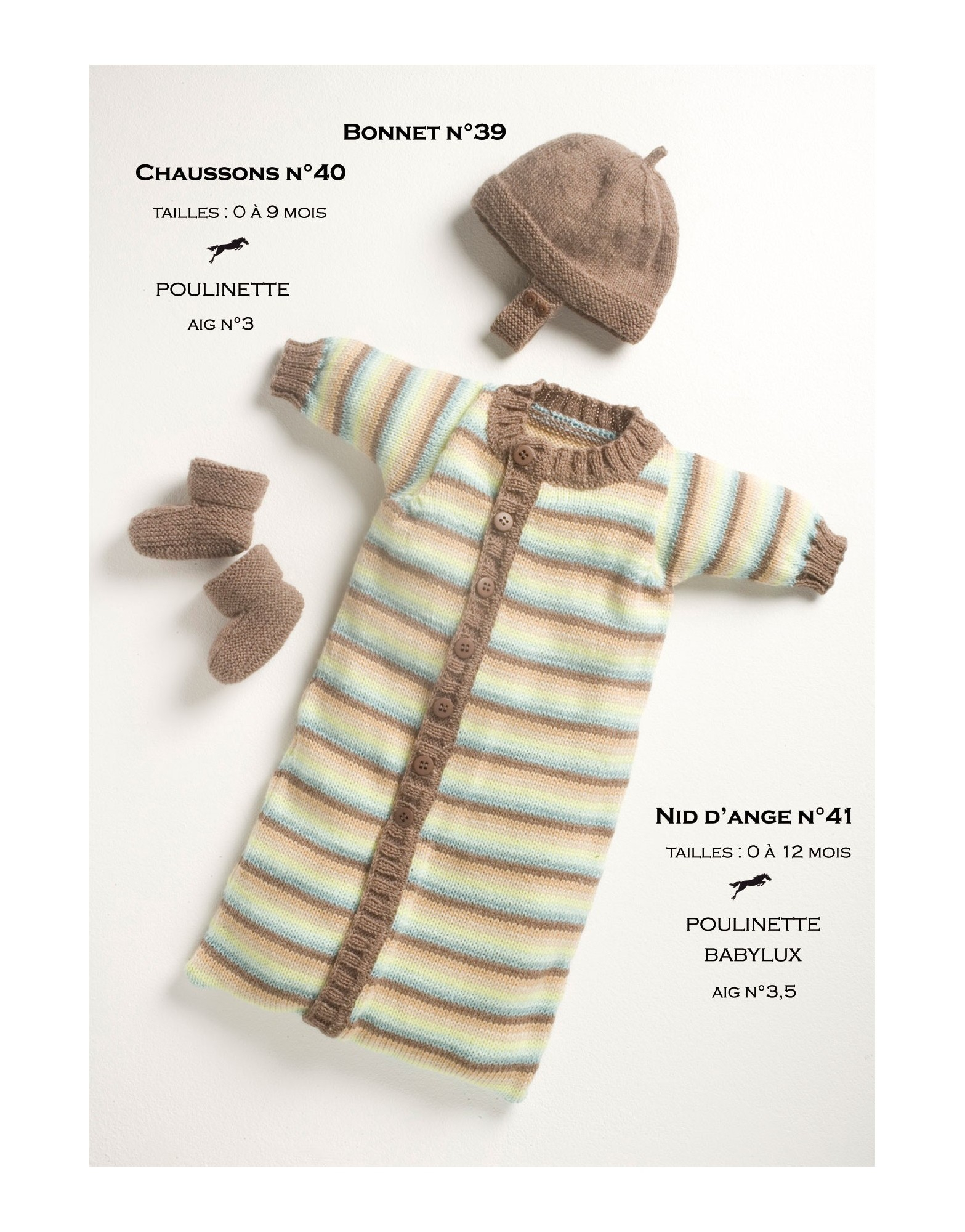 New Born Knitting Patterns Model Ba Sleeping Bag Cb13 41 Free Knitting Pattern Cheval Blanc