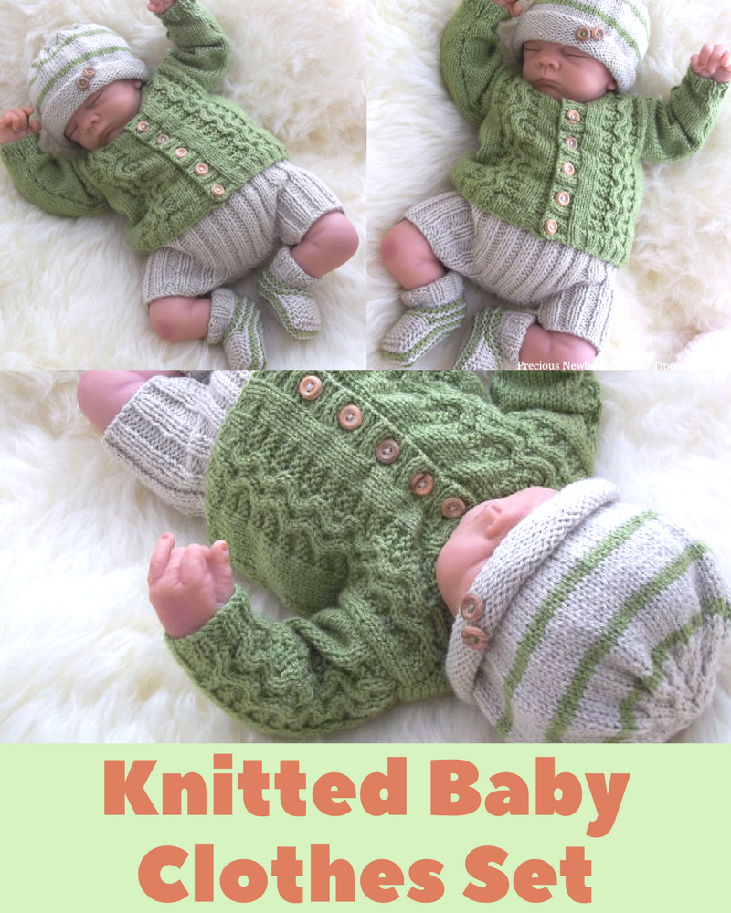New Born Knitting Patterns Newborn Ba Cardigan Knitting Pattern Also Incl Hat Trousers